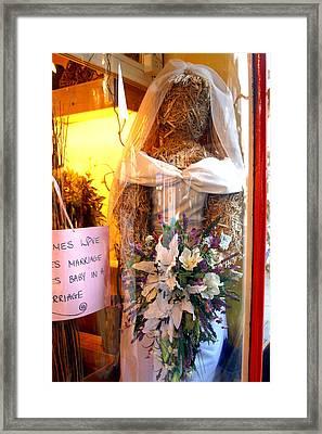 Mrs Gumidge Framed Print by Jez C Self