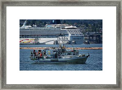 Mrs H Framed Print by Randy Hall