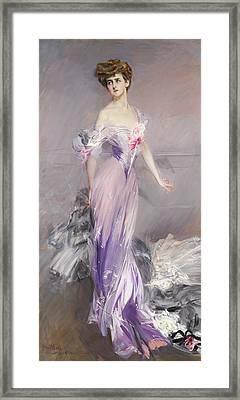 Mrs. Howard-johnston Framed Print