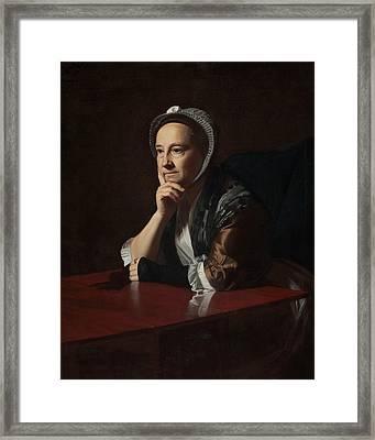 Mrs Humphrey Devereux Framed Print