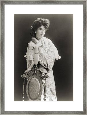 Mrs. James J. Molly Brown 1867-1932 Framed Print