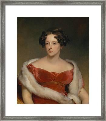 Mrs. John Biddle  Framed Print