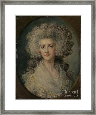 Mrs. John Puget Framed Print by Celestial Images