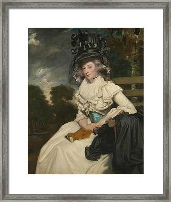 Mrs. Lewis Thomas Watson  Framed Print by Joshua Reynolds