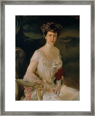 Mrs. Winthrop W. Aldrich Framed Print