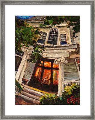 Ms Felkers Home Framed Print by Carole Foret
