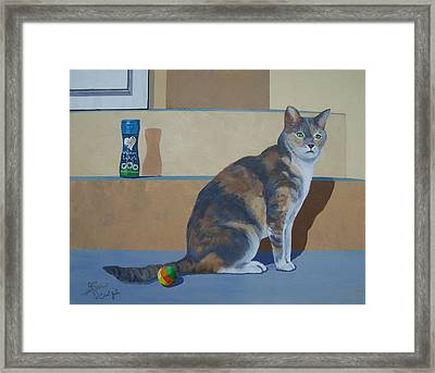 Ms. Jade Framed Print by Gene Ritchhart