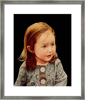 Ms Josie Framed Print