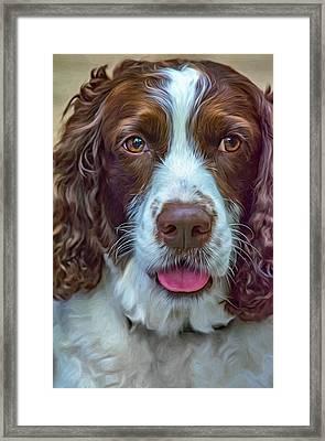 Ms Kaya 3 - Paint Framed Print by Steve Harrington