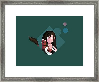 Ms. Lockhart Framed Print