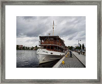 Ms Paul Wahl. Lake Saimaa. Savonlinna Framed Print