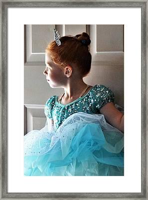 Ms Prima Ballerina Framed Print