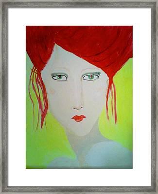 Ms. Tex Framed Print
