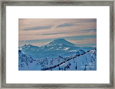 Mt Adams Framed Print