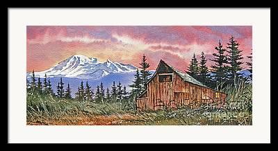 Williamson County Barn Framed Prints