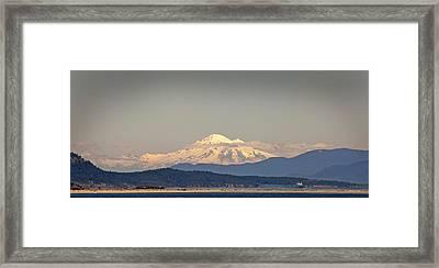 Mt Baker  Framed Print by Klaus Bohn