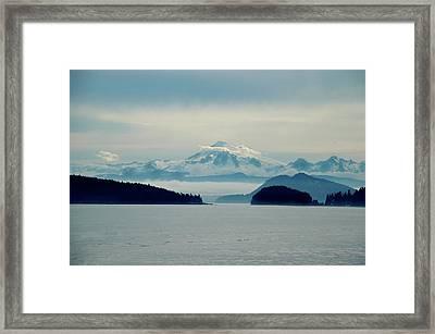 Mt. Baker Washington Framed Print