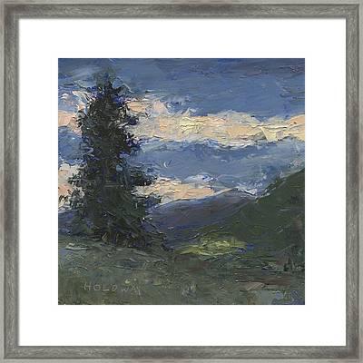 Mt Baldy Framed Print