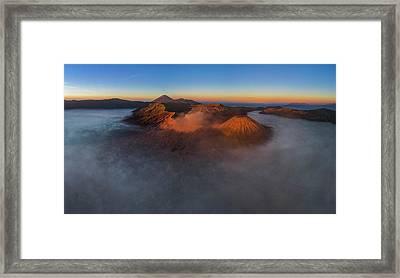 Mt Bromo Sunrise Framed Print