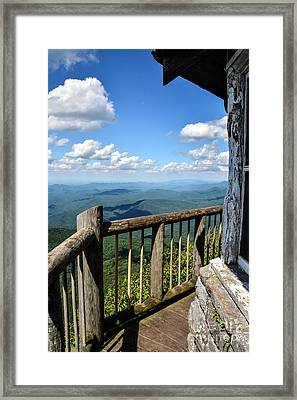 Mt. Cammerer Framed Print by Debbie Green
