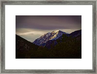 Mt. Chapin Framed Print