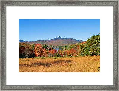 Mt. Chocorua Autumn 2 Horizontal Framed Print
