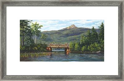 Mt. Chocorua, Albany, Nh Framed Print by Elaine Farmer
