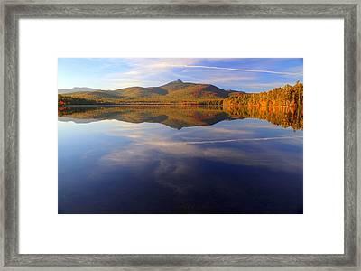 Mt. Chocorua In Blue Framed Print
