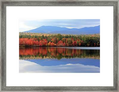 Mt. Chocorua Reflections I Framed Print by Lynne Guimond Sabean