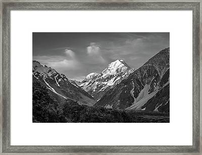 Mt Cook Wilderness Framed Print