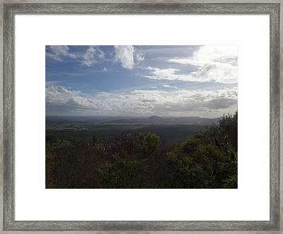 Mt Coolum Framed Print