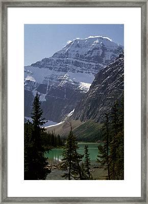 Mt Edith Cavell Framed Print