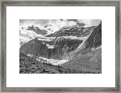 Mt. Edith Cavell Framed Print