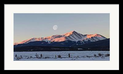 Mt. Massive Framed Prints