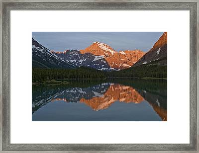 Framed Print featuring the photograph Mt. Gould by Gary Lengyel