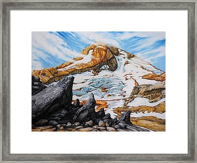 Mt. Hood Framed Print