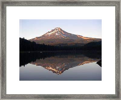 Mt Hood Framed Print by Eric Workman