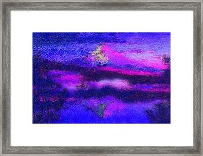 Mt Hood In Heaven Framed Print