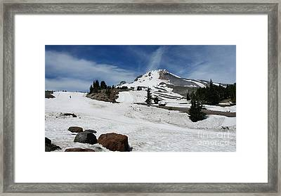 Mt. Hood In June Framed Print