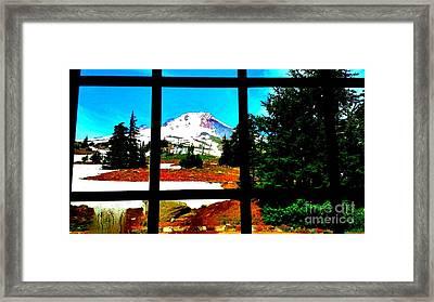 Mt. Hood View Framed Print