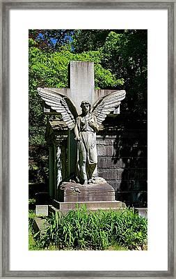 Mt. Hope Angel Framed Print by Richard Jenkins