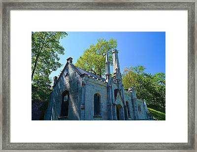 Mt. Hope Cemetery Architecture Framed Print by Richard Jenkins