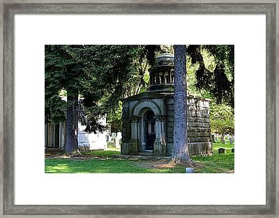 Mt. Hope Memorial Framed Print by Richard Jenkins