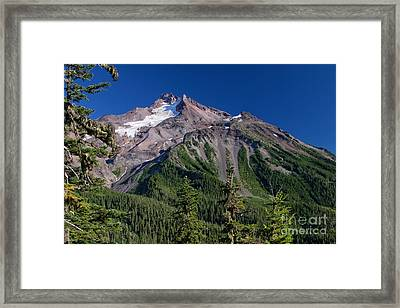 Mt. Jefferson From The Whitewater Trail Framed Print