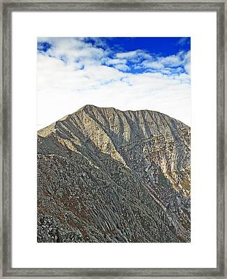 Mt. Katahdin Baxter State Park Maine Framed Print by Brendan Reals