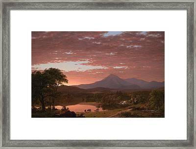 Mt Katahdin Framed Print by Mountain Dreams