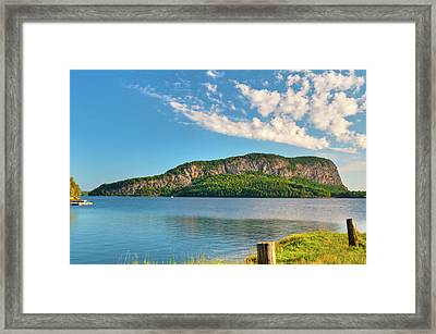 Mt Kineo 1504 Framed Print by Guy Whiteley