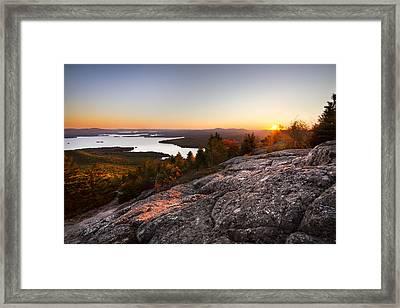 Mt. Major Summit Framed Print