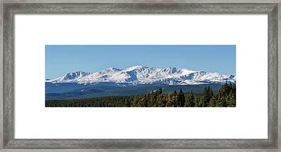 Mt Massive #2 Framed Print by John Magor