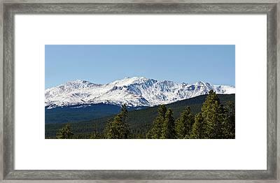 Mt. Massive, Fall 2016 Framed Print by John Magor
